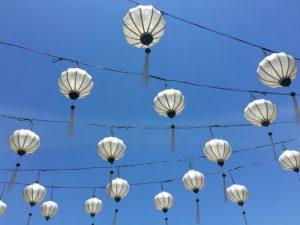 lampion Hoi An - rondreis Vietnam met gezin