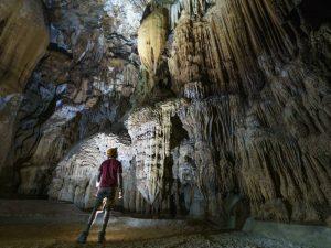 jungle trekking Phong Nha Vietnam - hike door de grotten