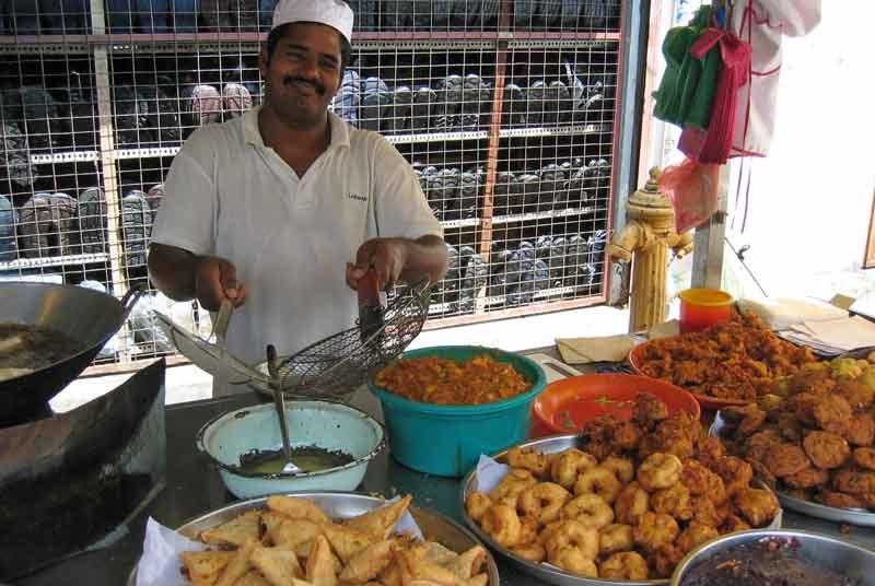 Maleisië reis - foodstall