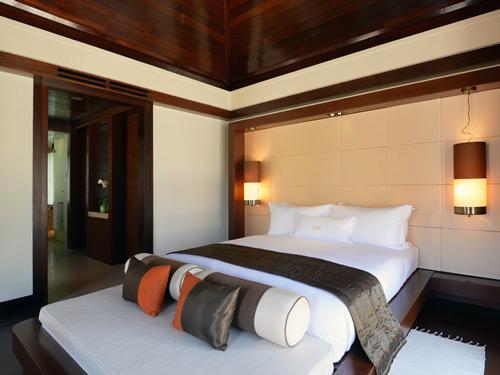 Gaya eiland resort kamer