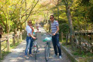 Op de fiets langs de highlights van Kyoto