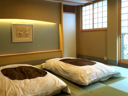 Overnachten in tradionele Ryokan