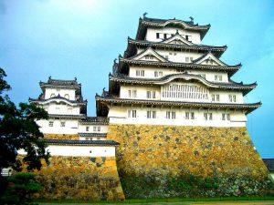 Het kasteel van Himeji-jo