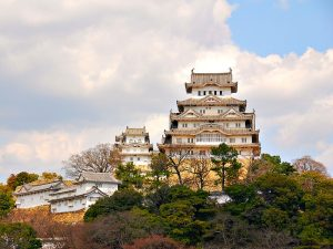 Bezoek het Himeji-jo kasteel onderweg naar Hiroshima