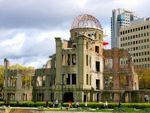 Hiroshima vredesmonument, Japan