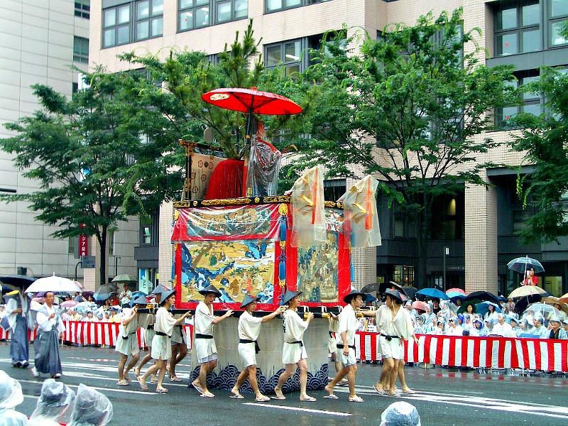 Een festival in Kyoto
