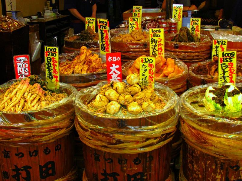 Lokale markt Takayama