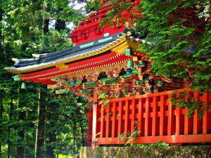 Een van de prachtige temepels die je bezoekt tijdens de dagtocht naar Nikko, Japan rondreis
