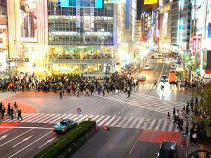 Shibuya crossing, Tokyo Japan