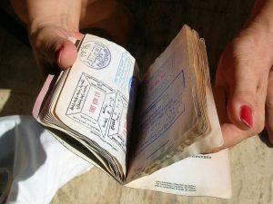 Paspoort en visum Japan