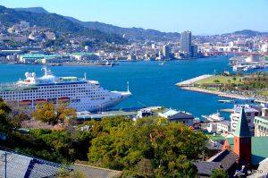 Mooi uitzicht Japan