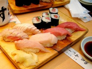 Japan highligts: Sushi