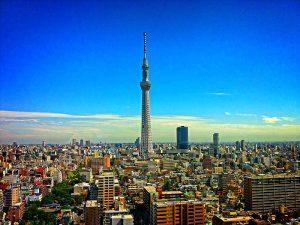Tokyo Tower van Japan