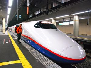 Vervoer Japan - trein