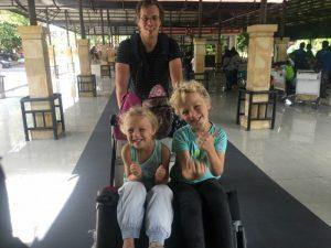 Kids in kinderwagen