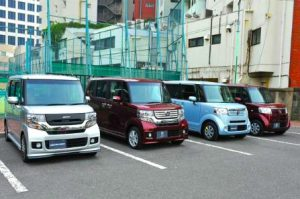 efficiente box auto's in Japan