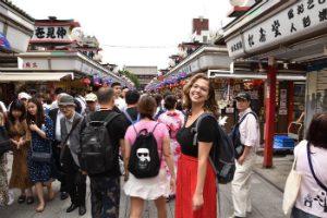 Japan-fanaat Lisa in Tokyo