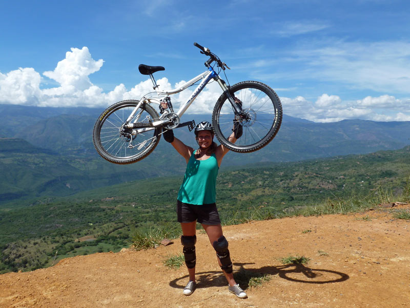 Kolumbien Individualreise Barichara Radtour