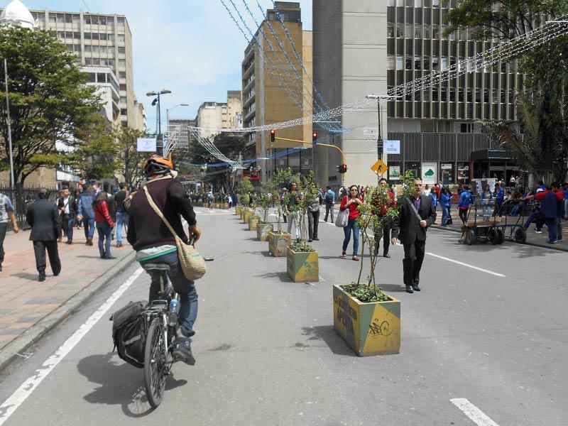 Fahrradtour durch Bogota