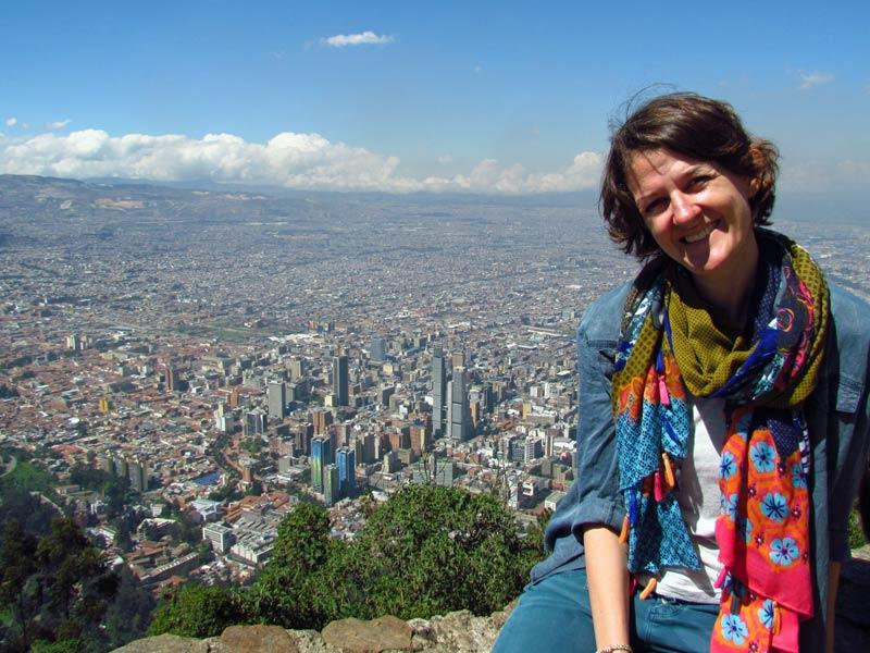 Blick vom Montserrate über Bogota
