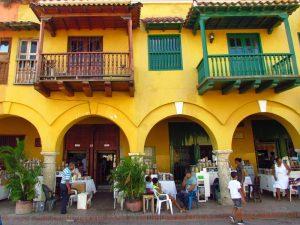 Plaza de los Cochos bei Kolumbien Reise