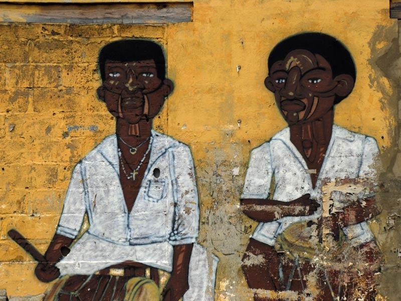 Kolumbien Cartagena Graffiti Sehenswürdigkeiten