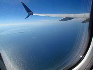 Blick über Kolumbiens Karibikküste