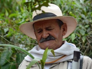 Kolumbien Individualreise Salento Kaffeebauer