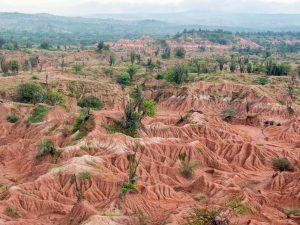 3 Wochen Kolumbien Reise Tatacoa Wüste