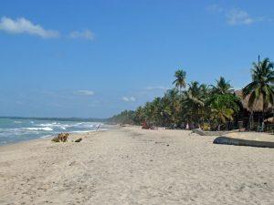 Strand von Palomino-Kolumbien
