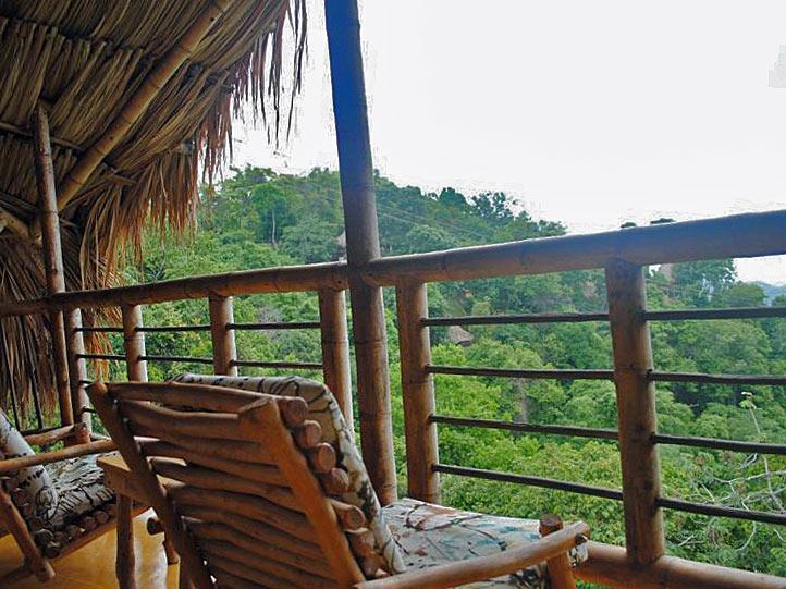 Unterkunft in Minca an Kolumbiens Karibikküste