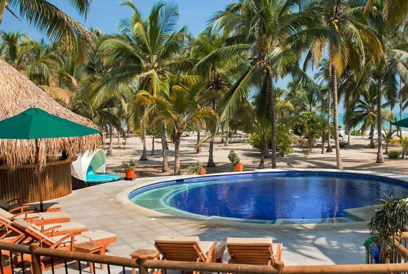 Komforthotel mit Pool in Palomino bei Kolumbien Rundreise