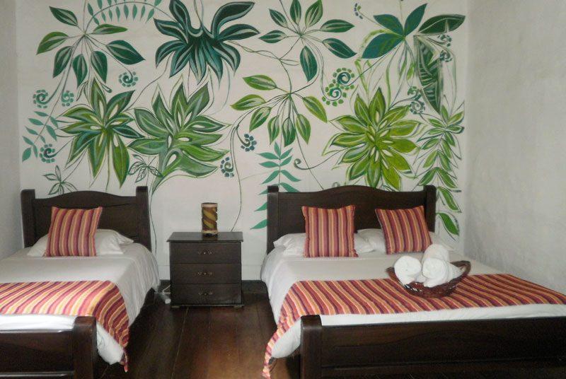 Kolumbien Rundreise Salento Unterkunft Hotelzimmer