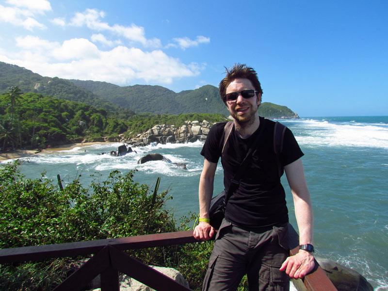 Aussichtspunkt im Tayrona Nationalpark