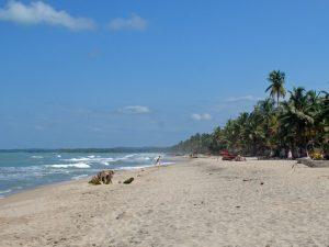 Entspannung am Karibikstrand von Palomino