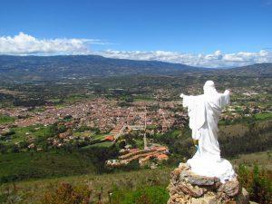 Blick über Villa de Leyva