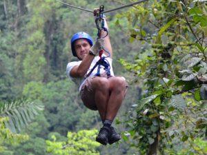 San Gil Barichara Ziplining Kolumbien