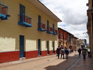 La Candelaria, die Altstadt von Bogota