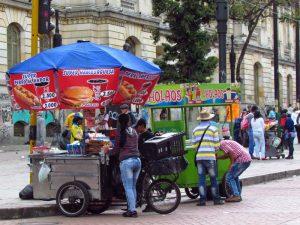 Snackverkauf in Medellin