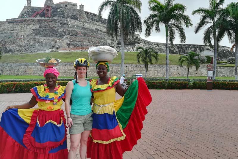 Das Fort von Cartagena