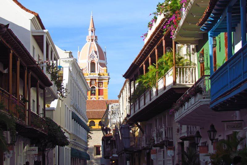 Kolumbien Panama Rundreise Cartagena Kirche