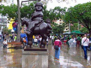 Botero-Statue in Medellin