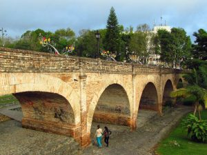 Puente del Humilladero, das Wahrzeichen von Popayan