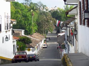 Ruhiges Viertel in Popayan