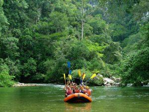 Rafting auf dem Rio Claro