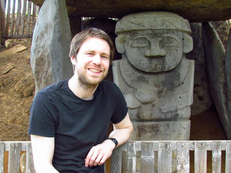 Alto de los Idolos hane San Agustin in Kolumbien