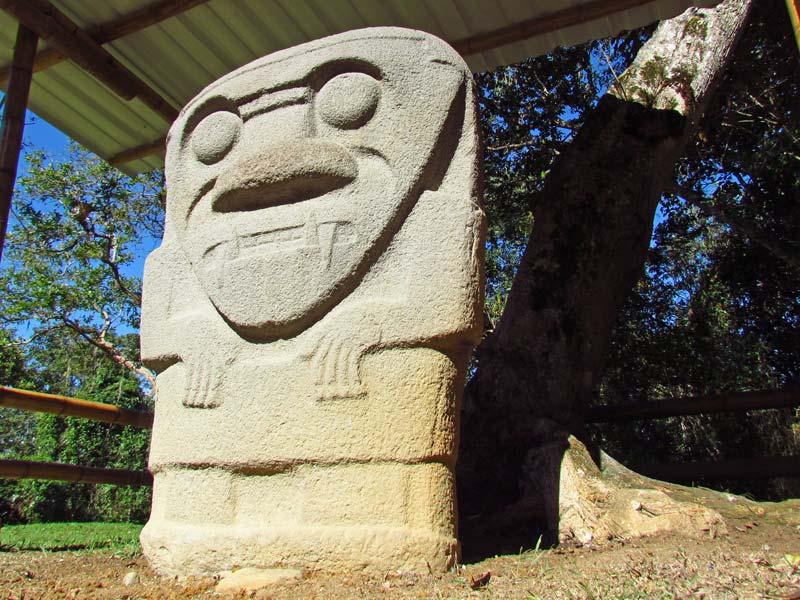 Archäologischer Park in San Agustin bei Kolumbien Reisen