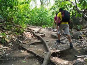 Wanderer im Tayrona Nationalpark