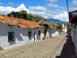 Gasse in Villa de Leyva