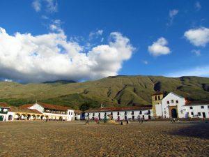 Plaza von Villa de Leyva
